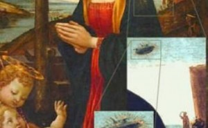UFO On Ancient Paintings