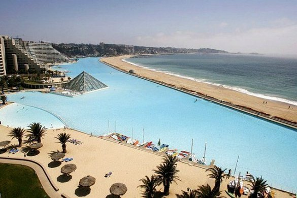 World s biggest swimming pool be amazed - Where is the worlds largest swimming pool ...