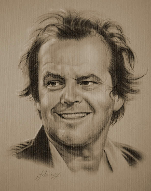 Of Nicholson Drawings Famous People Jack
