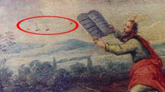 nlo on ancient paintings 05 UFO On Ancient Paintings