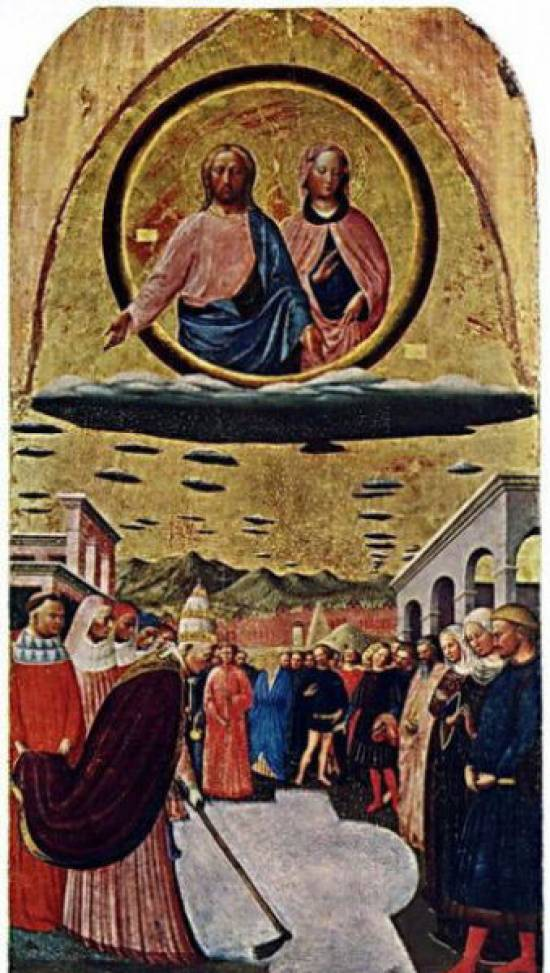 nlo on ancient paintings 10 UFO On Ancient Paintings