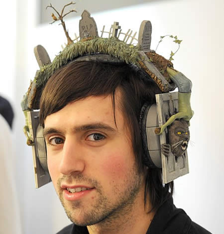 weird headphones